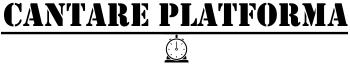 Cantare Platforma Logo